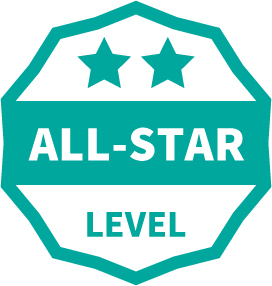 All-Star Level Badge