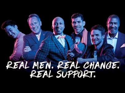 Real men, Real change, Real support