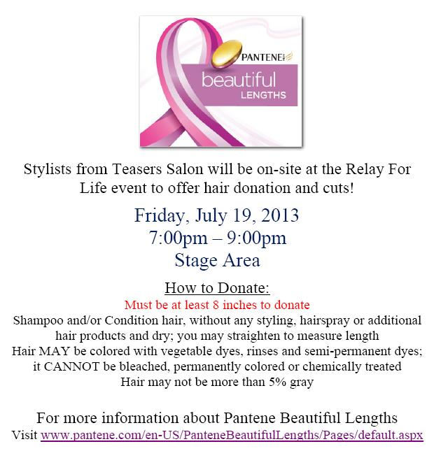 Relay For Life Of Chenango County 2013 Announcements