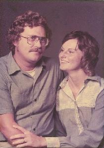 Engagement photo back in 1975 before we knew how cancer would be touching our lives!