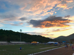 Beautiful sky at Relay last year